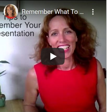 3 Tips to Remember What to Say